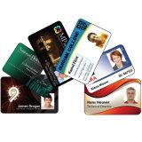 Cartão de visita de cartão de visita de plástico Datacard 3D UV