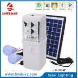 lumière solaire rechargeable du secours DEL de C.C 3W