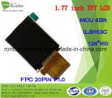 1,77 pouce 128*160 MCU 8 bits Module TFT LCD 20broche