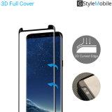 친절한 Samsung를 위한 2017년 GStyleMobile 상표 AGC 유리 3D 이동 전화 부속품 강화 유리 스크린 프로텍터 케이스, Samsung 은하 S8