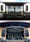 Zeile Reihen-im Freienlautsprecher-Konzert-Stadiums-Tonanlage