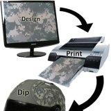 Kingtop Blank Inkjet PVA Aqua Print Film filme de impressão em água hidrografia em branco com 1.27m / 0.6m / 0.42m / 0.3m Wide