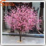 Mini albero artificiale del fiore di ciliegia della vetroresina decorativa dell'interno