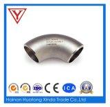 Cotovelo industrial do aço inoxidável com encaixe de tubulação do PED 90d (KT0351)