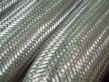 Manguito flexible trenzado del acero inoxidable