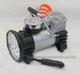 Pompe à air de voiture en métal de style nouveau avec lumières LED
