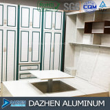 Profilo di alluminio della mobilia dell'armadietto del Governo di profilo con colore personalizzato di formato