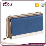 Бумажник для перемещения, бумажник PU женщины OEM фабрики с функцией RFID