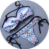 Bikini sexy de vêtements de bain de fille faite sur commande