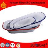 Plaque d'assiette de beurre d'émail de vaisselle de cuisine de Sunboat