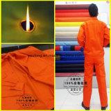 Tela à prova de fogo e anti estática com algodão 100% para o vestuário