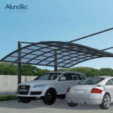 Parking en aluminium durable moderne de garage de véhicule de polycarbonate