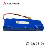 Paquet rechargeable 18650 de batterie Li-ion de lithium de 11.1V 12V 6600mAh