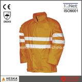 Водонепроницаемая куртка с высокой четкости в отношении безопасности дождя надевать защитную одежду