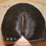 Breve parrucca superiore di seta nera delle donne dei capelli umani di Remy del Virgin di colore