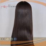 Tipo recto natural elegante peluca superior de seda de gama alta de las mujeres de la calidad (PPG-l-0899) del estilo largo del 100%