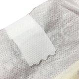 Tipo descartável tecidos descartáveis baratos do tecido da faixa branca do bebê
