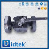 Шариковый клапан тела Static Didtek анти- Split усаженный металлом плавая