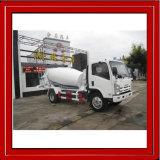Mini camion della pompa per calcestruzzo di Isuzu, mini camion concreto, mini miscelatore di cemento del camion