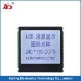 Écran LCD Paenl 240*160 Stn LCM avec le fond bleu utilisé pour Electrombile
