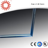 Alto brillo 36W-50W 600 * 600 mm LED de la lámpara del panel