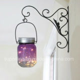 Productos de cristal netos colgantes de la iluminación del tarro del metal del jardín de la celebración del festival