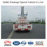 carro de trabajo aéreo del compartimiento de los 20m Dongfeng con el gancho de leva