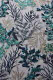 女性Dressingおよびホーム織物ののための方法網のプラント刺繍のレースファブリック