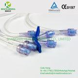 Connecteur libre de pointeau avec le double tube de prolonge, 20cm