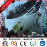 단화와 핸드백을%s PVC 가죽을 인쇄하는 디지털