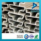 Pieza inserta de aluminio T5 del perfil 6063 para MDF Slatwall
