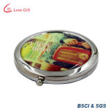 Logo personnalisé Blue Crystal Compact Mirror