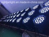 18PCS 10W RGBW los 4in 1 con la luz de la IGUALDAD del zoom LED