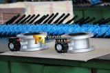 O dobro do aço inoxidável da engrenagem flangeou a válvula de borboleta Ss316