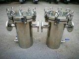 Qualitäts-Edelstahl-Druck-Höhen-Fluss-Korb-Filtergehäuse