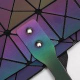 Leuchtender PU-geometrischer rhombischer Frauen-Beutel (A0101)