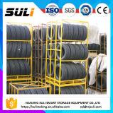 Metallfaltbarer Typ Zahnstangen-Regal/LKW-Reifen-Speicher-Zahnstange