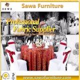 주문을 받아서 만들어진 금속 스판덱스 의자 덮개 공장 공급