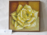 Картины декоративной холстины дома картины Rose золота вися