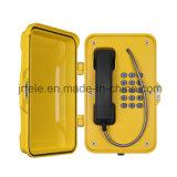 El teléfono sin hilos a prueba de mal tiempo, hace un túnel el teléfono sin cuerda, teléfonos resistentes del SIP