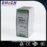 Hdr-75, 75W de Levering van de Macht van de Omschakeling van het Spoor van DIN 85-264VAC aan 24VDC, 3.2A