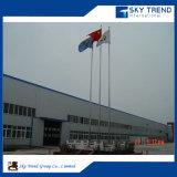 Edificio de acero pre ensamblado del bajo costo del taller prefabricado de la fábrica