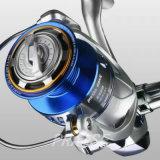 Corpo de alumínio personalizado Fotorreceptor-Mf todo o carretel da pesca do giro de metal