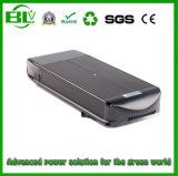le type plat de batterie de vélo de la batterie au lithium de Li-ion de 48V 13ah E avec protègent le prix bon marché d'IC