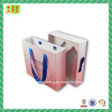 손잡이와 삽입을%s 가진 마분지 종이상자 서랍 상자