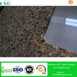 Pedra de quartzo artificial lajes de cor de múltiplos bancada