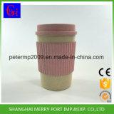 BPA liberano la tazza di caffè calda del frumento di vendita 400ml, tazze