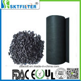 Tissu non-tissé à filtre à charbon actif