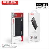 Высокое качество 10000mAh модели 328s крена силы конструкции Kingleen 2017 новое определяет USB 1aoutput с цифровой индикацией