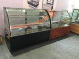 Коммерчески мраморный низкопробный холодильник витрины индикации торта в хорошем качестве
